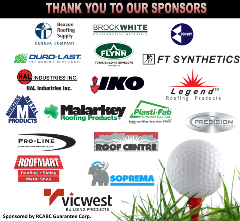 Rcabc Annual Golf Tournament Roofing Contractors