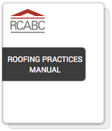 Roofing Practices Manual (RPM)